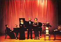 """Композиция """"Два голоса прелестью тихой полны..."""". НКЦ """"Пушкинские горы"""". 2004 г."""