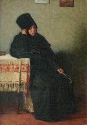 В.В. ВЕРЕЩАГИН. Послушница Вологодского монастыря. 1894