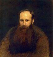 И.Н. КРАМСКОЙ. Портрет В.В. Верещагина. 1883
