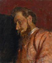 И.Е. РЕПИН. Портрет В.К. Менка. 1884