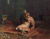 И.Е. РЕПИН. Иван Грозный и сын его Иван 16 ноября 1581 года. 1885