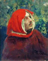 И.Е. РЕПИН. Голова Данте. Конец 1890-х