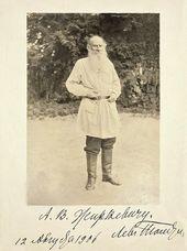Л.Н. Толстой. Июль 1906