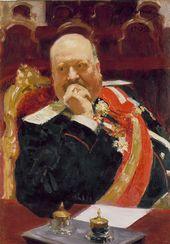 И.Е. РЕПИН. Портрет А.П. Игнатьева. 1902