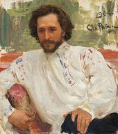 И.Е. РЕПИН. Портрет Л.Н. Андреева. 1904