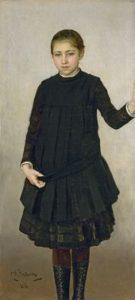 И.Е. РЕПИН. Портрет В.И. Репиной. 1886