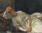 И.Е. РЕПИН. Портрет Луизы Мерси д,Аржанто. 1890