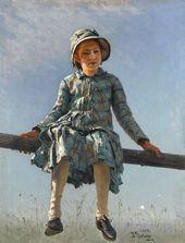 И.Е. РЕПИН. «Стрекоза». 1884