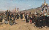 И.Е. РЕПИН. Крестный ход в Курской губернии. 1880–1883