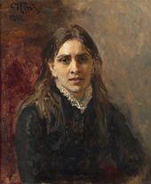 И.Е. РЕПИН. Портрет Пелагеи Стрепетовой. 1882