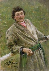 И.Е. РЕПИН. Белорус. 1892