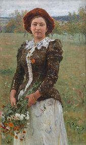 И.Е. РЕПИН. Осенний букет. 1892