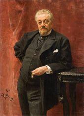 И.Е. РЕПИН. Портрет В.Н. Герарда. 1893