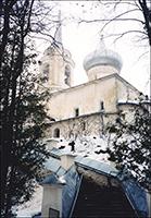 Святогорский Свято-Успенский монастырь. Пушкинские горы.
