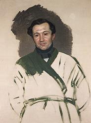 К. П. Брюллов. Портрет П. В. Кукольника. 1841 г.