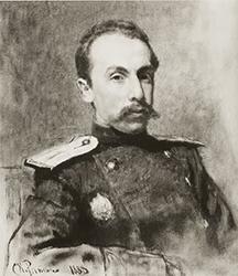 И. Е. Репин. Портрет А. В. Жиркевича. 1888 г.
