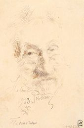 И.Е. РЕПИН. Автопортрет. 1923