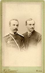 А. В. Жиркевич и А. К. Снитко. 1889 г.