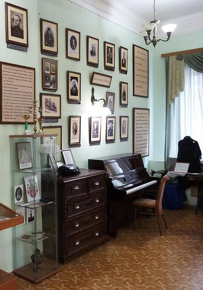 Литературно-историческая гостиная А. В. Жиркевича.