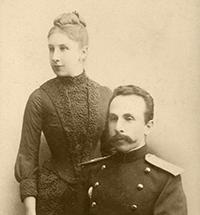 Е. К. и А. В. Жиркевичи 1888 г.