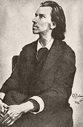 И. Е. Репин. Портрет К. М. Фофанова, 1888 г.