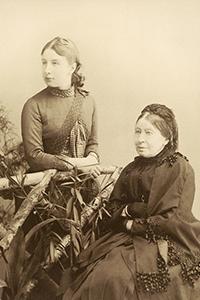 Катя Снитко с В. И. Пельской