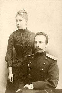 Е.К. и А.В. Жиркевичи, 1888 г.